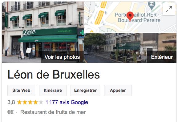 Avis Leon de Bruxelles